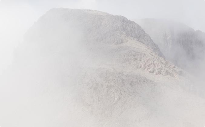 Naturschauspiel in den Südtiroler Dolomiten