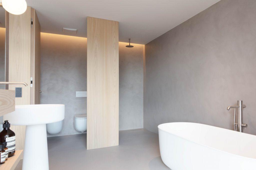 Badezimmer der Familien Suite im Hotel Schgaguler