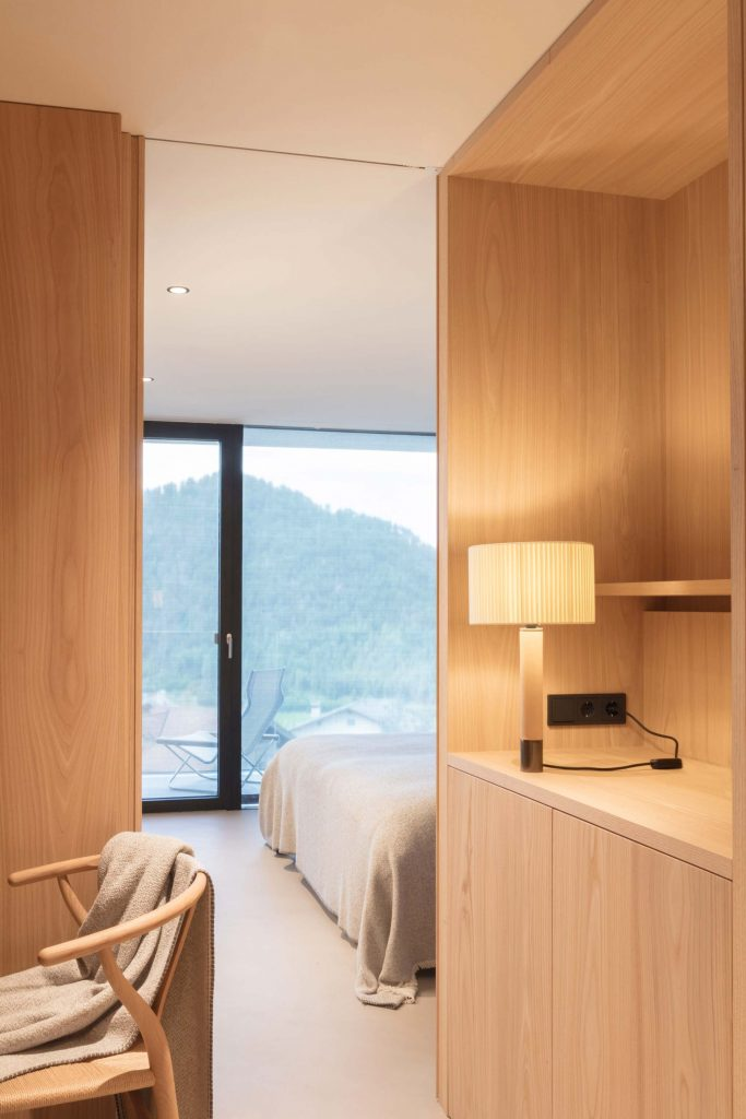 The family suite in Hotel Schgaguler with two bedrooms
