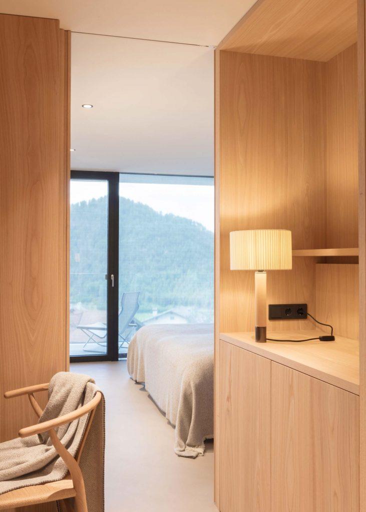 Die Familiensuite im Hotel Schgaguler mit zwei Schlafzimmer