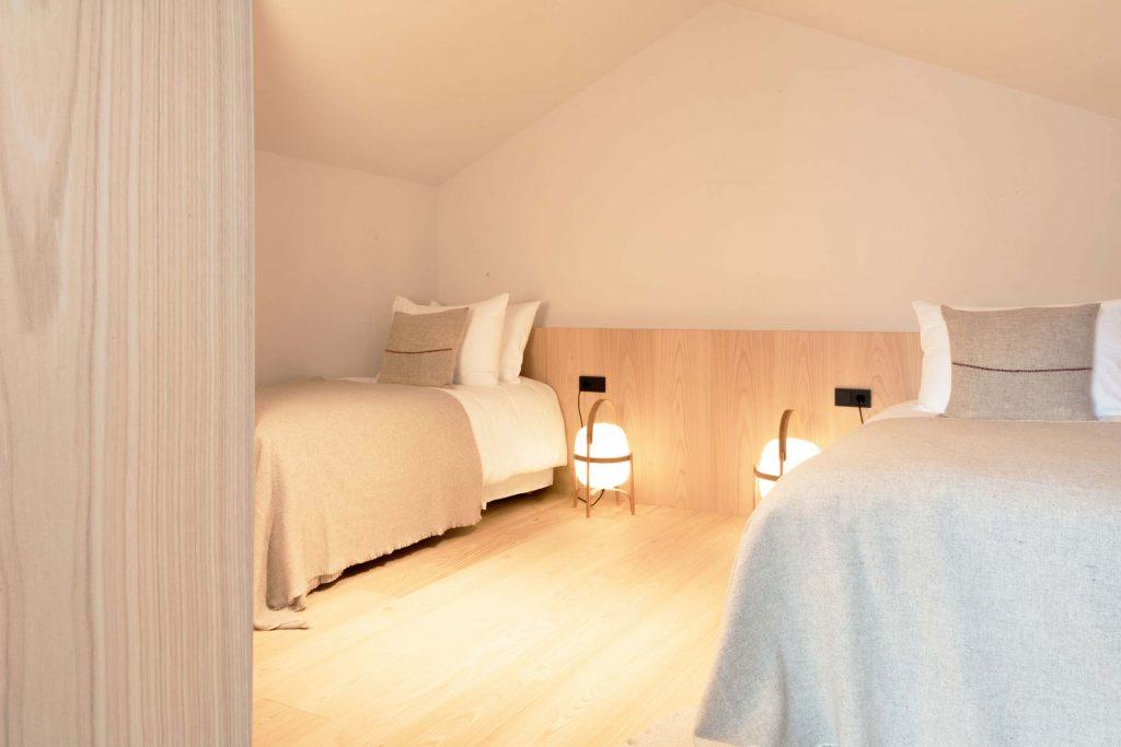 Die Giebel Suite für vier Personen im Hotel Schgaguler in Südtirol