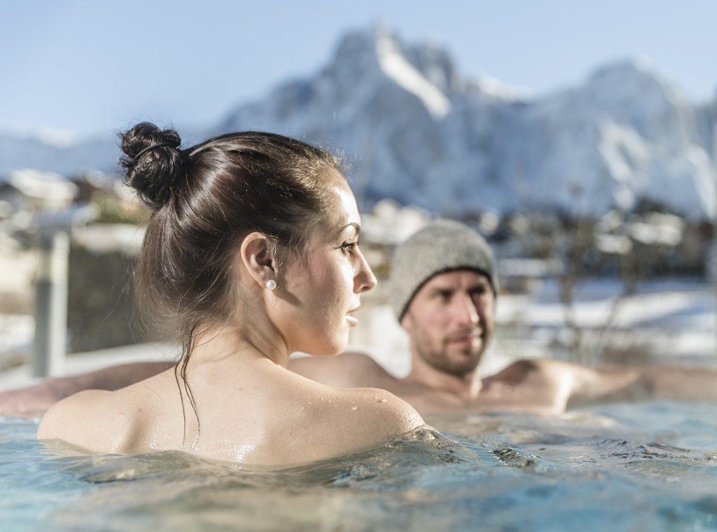 Wellness im Freien auch im Winter