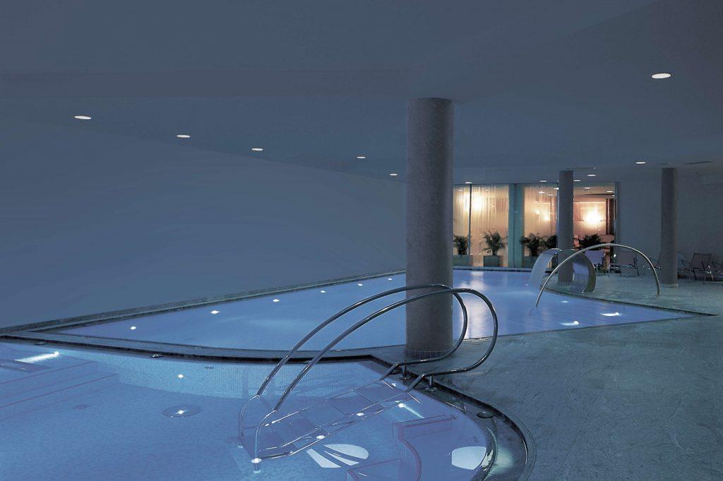 Die Schwimmbäder des Hotel Schgaguler