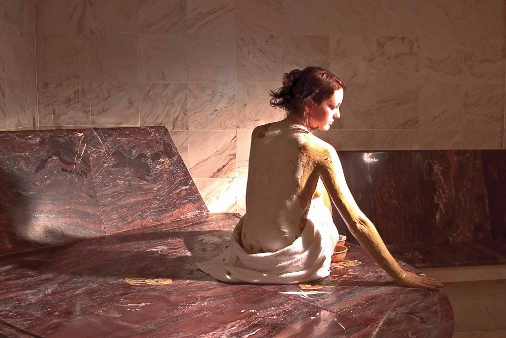 Massagen und Peelings in der Beauty Abteilung des Hotel Schgaguler