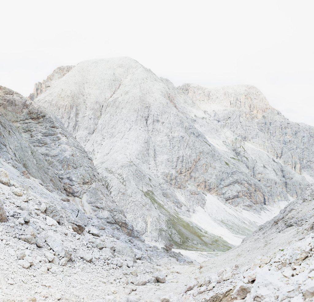 Il Passo Molignon vicino all'Alpe di Siusi