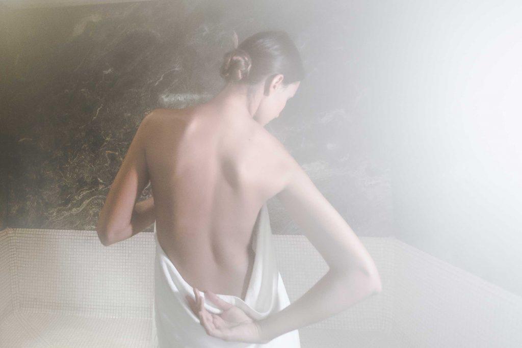 Steam bath at the Boutique Hotel Schgaguler