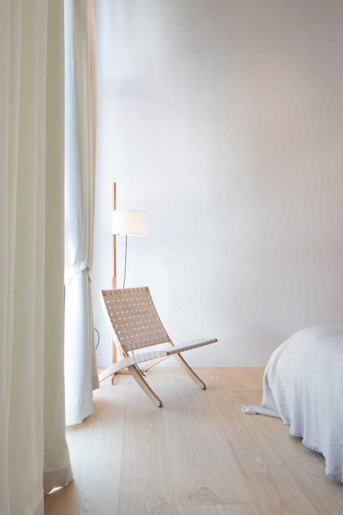 Kuba Chair im Zweiten Schlafzimmer der Townsuite