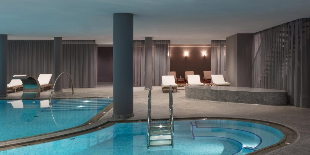 Wellness und SPA Bereich Boutique Hotel Schgaguler