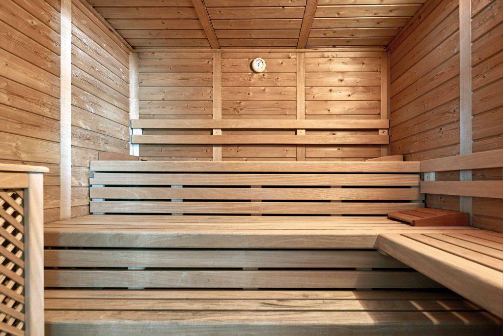 Bio Sauna im Wellnesshotel Schgaguler in Kastelruth