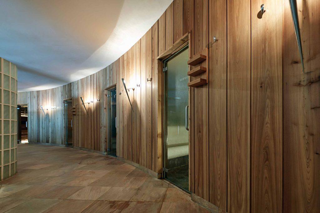 Saunabereich des Schgaguler Hotel auf der Seiser Alm