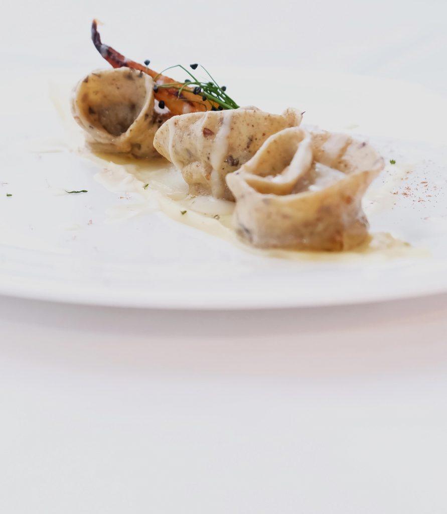 Gourmet Gerichte im Schgaguler Hotel in den Dolomiten