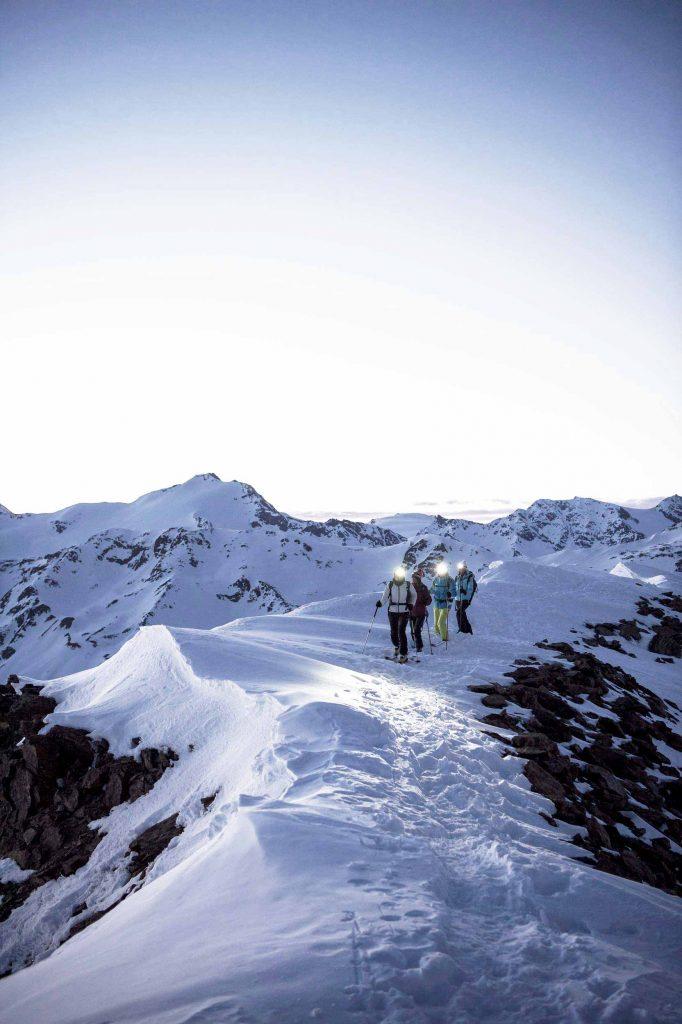 Skitourengehen für Anfänger in den Dolomiten