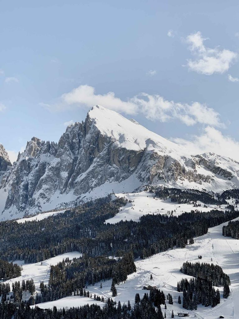 Plattkofel Skitour