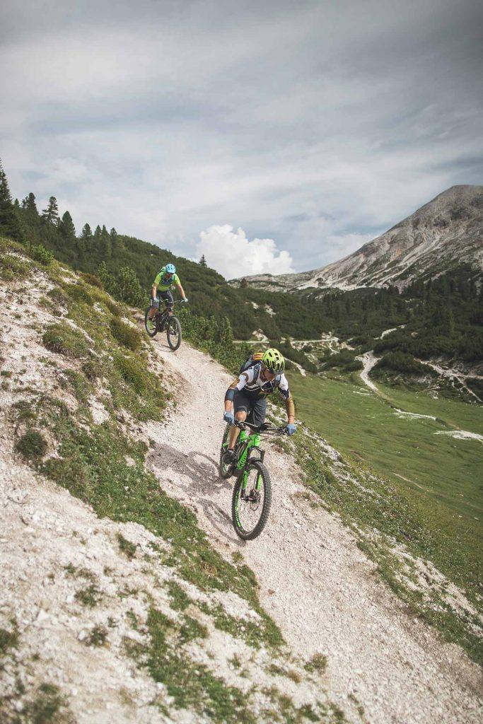 geführte MTB Touren in Südtirol