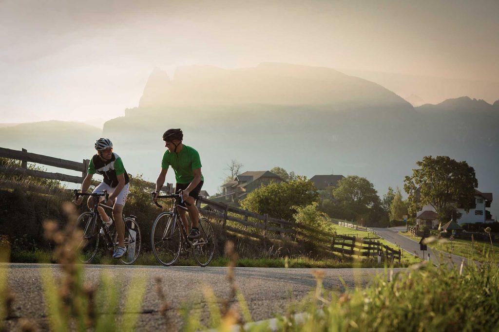 Mit dem Rennrad in den Dolomiten