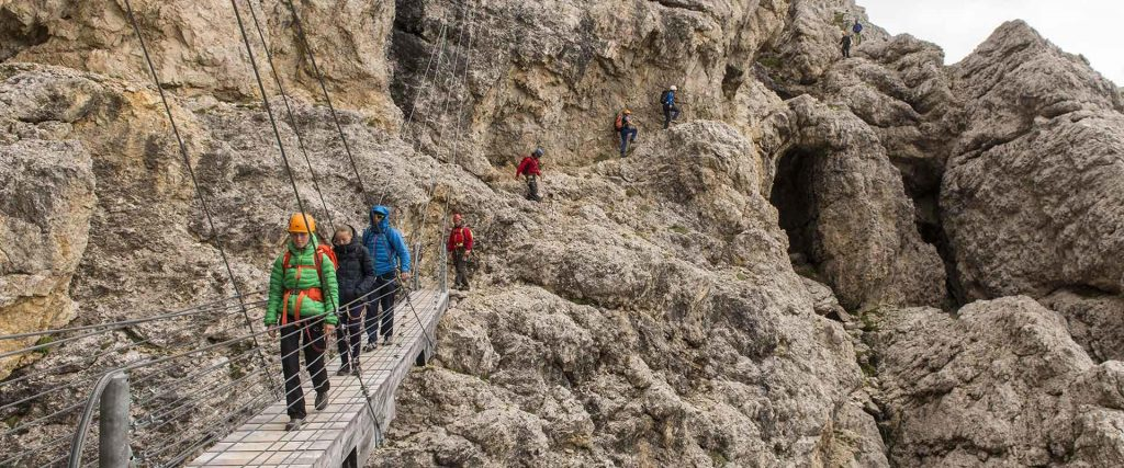 Vacanza in Montagna con vie ferrate